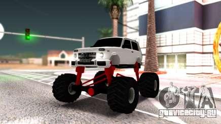 Vaz 2121 Monster Armenian для GTA San Andreas