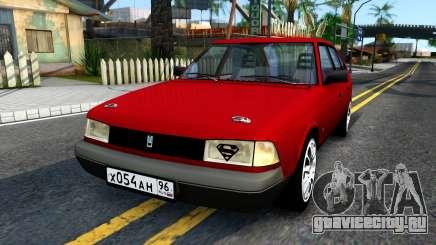 АЗЛК 2141 бордовый для GTA San Andreas