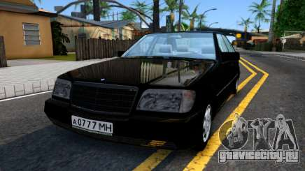 "Mercedes-Benz W140 S600 From ""Brigada"" для GTA San Andreas"