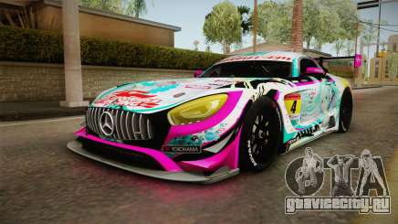 Mercedes-Benz AMG GT3 Goodsmile Racing 2017 для GTA San Andreas