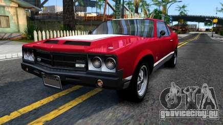 Sabre Turbo GTA 5 для GTA San Andreas