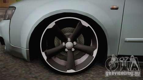 Audi S4 B6 для GTA San Andreas вид сзади слева