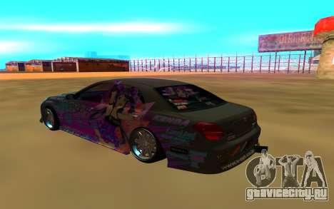 Toyota CROWN MAJESTA для GTA San Andreas вид слева