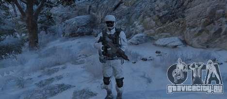 Flat Snow Camo для GTA 5