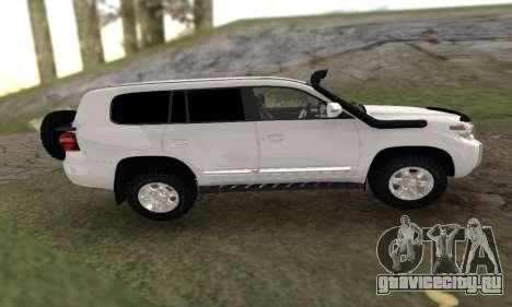 Toyota Land Cruiser 205 для GTA San Andreas вид слева