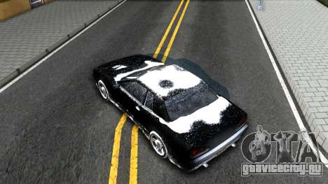 Winter Elegy для GTA San Andreas вид сзади