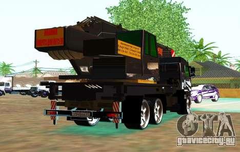 КамАЗ 65117 Ивоновец для GTA San Andreas вид сверху