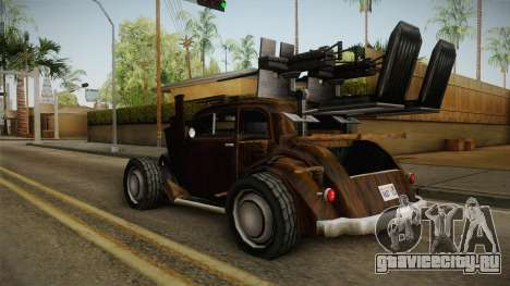 Raku Desert Hustler для GTA San Andreas вид сзади слева