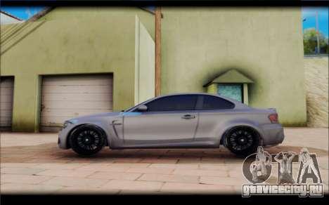 BMW M1 Coupe для GTA San Andreas вид слева