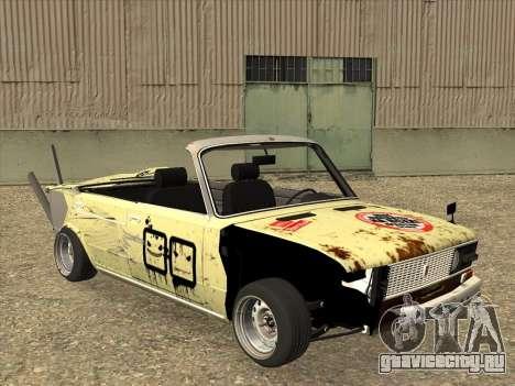 ВАЗ 2106 Кабриолет для GTA San Andreas вид слева