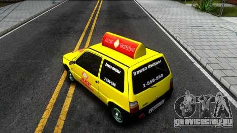 "ВАЗ 1111 ""Ока"" Мир Пиццы для GTA San Andreas"