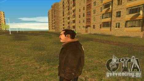 Усатый Нико для GTA San Andreas четвёртый скриншот