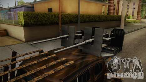 Raku Desert Hustler для GTA San Andreas вид сзади