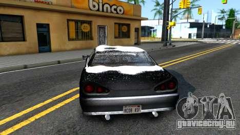 Winter Elegy для GTA San Andreas вид сзади слева