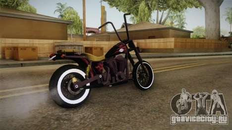 GTA 5 Western Daemon для GTA San Andreas вид сзади слева