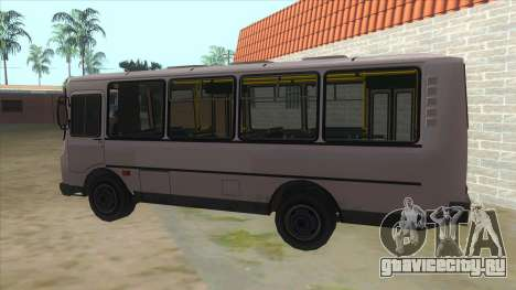 PAZ 32054 Custom для GTA San Andreas вид слева
