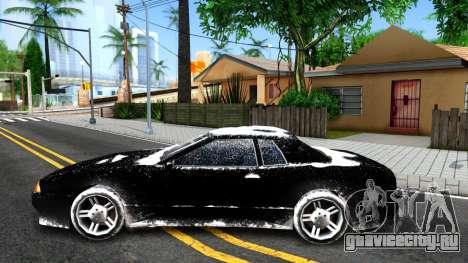 Winter Elegy для GTA San Andreas вид слева