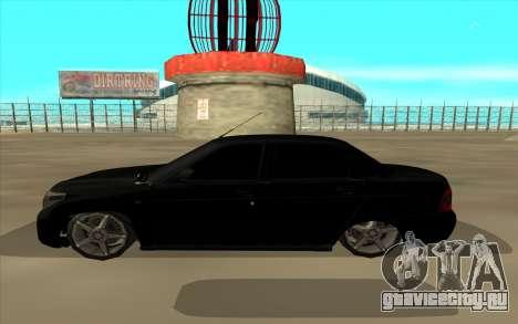 Lada Priora Land Cruiser для GTA San Andreas вид слева