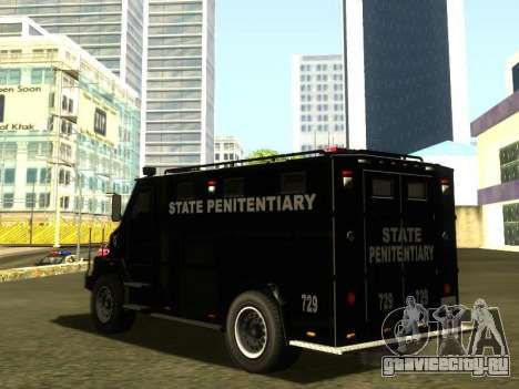 International 4000 Police Special для GTA San Andreas вид слева
