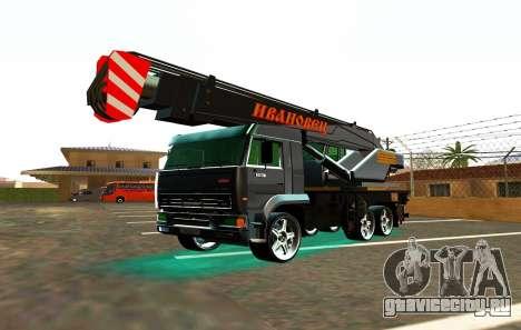 КамАЗ 65117 Ивоновец для GTA San Andreas