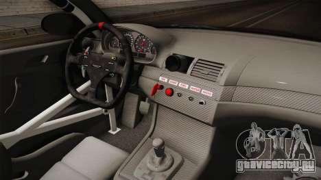 BMW M3 E46 2005 NFS: MW Livery для GTA San Andreas салон