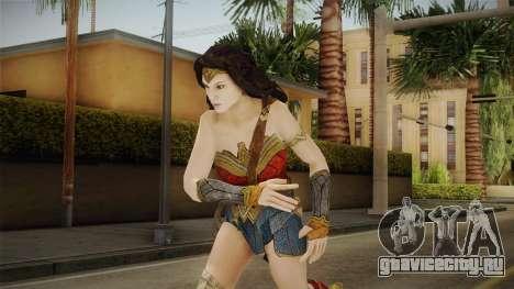 Wonder Woman Gal Gadot для GTA San Andreas