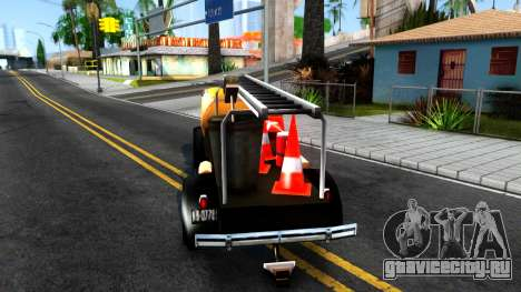 Bolt Utility Truck From Mafia для GTA San Andreas вид сзади слева