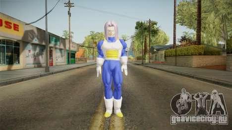 DBX - Trunks SJV2 Saiyan Armor для GTA San Andreas второй скриншот
