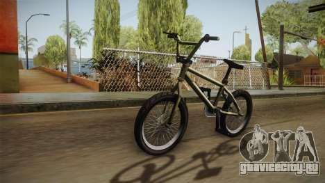 GTA 5 BMX для GTA San Andreas вид сзади слева