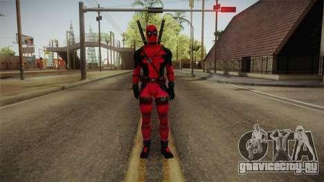 Deadpool The Movie Reskinned для GTA San Andreas второй скриншот