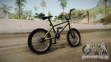 GTA 5 BMX для GTA San Andreas вид справа
