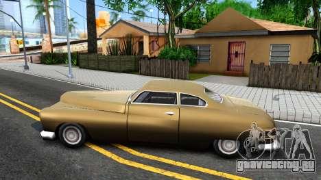Hermes Restyle для GTA San Andreas вид слева