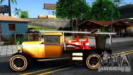 Bolt Utility Truck From Mafia для GTA San Andreas вид слева