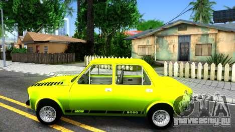 Fiat 128 для GTA San Andreas вид слева