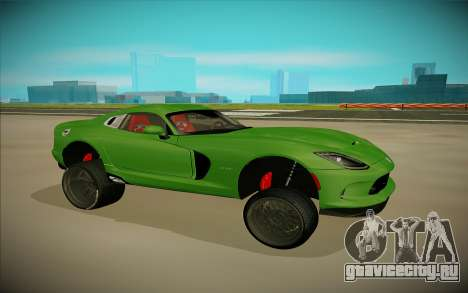 Dodge Viper GTS Off Road для GTA San Andreas