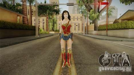 Wonder Woman Gal Gadot для GTA San Andreas второй скриншот