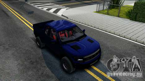 Ford F-150 SVT Raptor Elite 2014 для GTA San Andreas вид справа