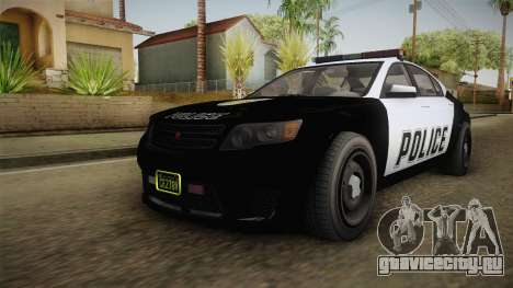 GTA 5 Cheval Fugitive Police для GTA San Andreas