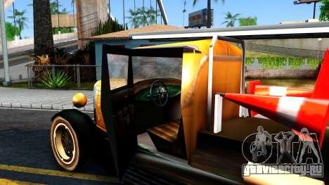 Bolt Utility Truck From Mafia для GTA San Andreas вид изнутри