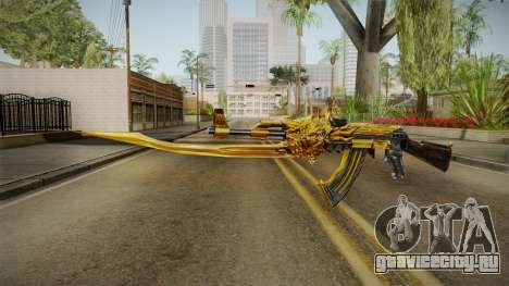 Cross Fire - AK-47 Beast Noble Gold v1 для GTA San Andreas второй скриншот