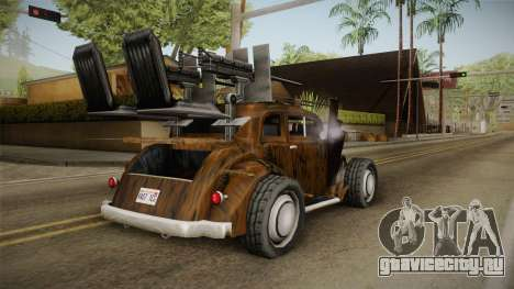 Raku Desert Hustler для GTA San Andreas вид слева