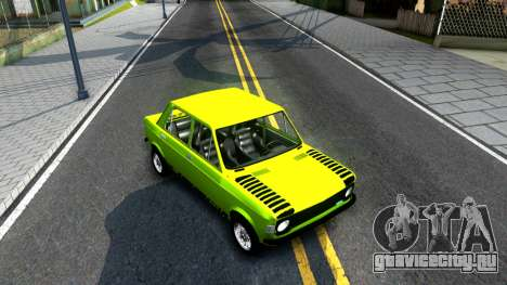 Fiat 128 для GTA San Andreas вид справа