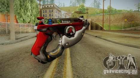 Overwatch 9 - Tracers Pulse Gun v1 для GTA San Andreas второй скриншот