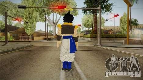 DBX2 - Gogeta SJ для GTA San Andreas третий скриншот