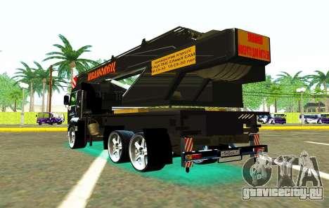 КамАЗ 65117 Ивоновец для GTA San Andreas салон