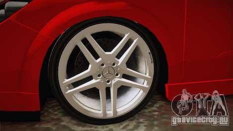 Opel Astra H OPC для GTA San Andreas вид сзади