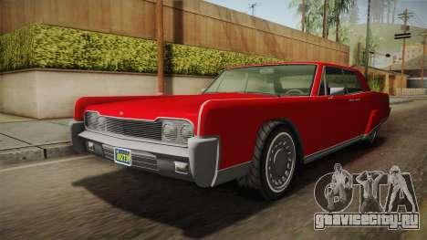 GTA 5 Vapid Chino Continental для GTA San Andreas вид справа