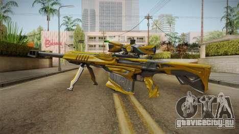 Cross Fire - M82A1 Iron Shark Noble Gold для GTA San Andreas второй скриншот