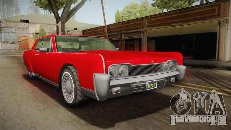 GTA 5 Vapid Chino Continental для GTA San Andreas