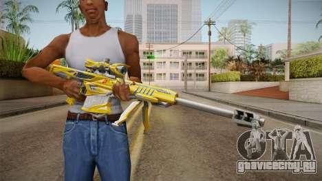 Cross Fire - M82A1 Iron Shark Noble Gold для GTA San Andreas третий скриншот